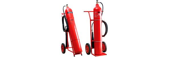 Stingatoare de incendiu transportabile cu dioxid de carbon