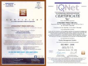 Certificare Singomat - ISO 9001